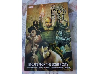 The Immortal Iron First - Escape from the Eighth City [TPB]