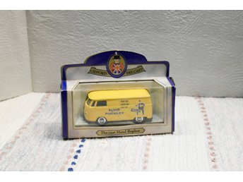 "ELVIS Presley ""the king"", gul volkswagenbuss/oxford diecast"