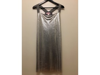 Xmas/NYE/vacation tips: mint condition Versace x H&M mesh party dress size 38