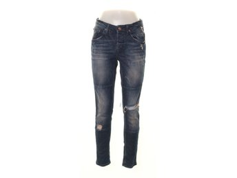 Perfect Jeans Gina Tricot, Jeans, Strl: 36, Blå, Bomull