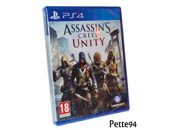 Assassin's Creed: Unity Playstation 4 PS4 Nytt Inplastat Se Hit!