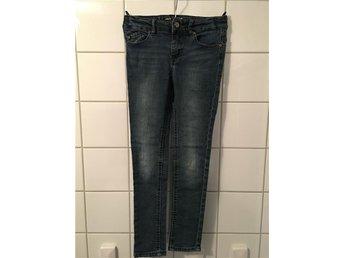 Jeans barn flicka DKNY Donna Karan storlek 7 år med resårsjustering på insidan - Limhamn - Jeans barn flicka DKNY Donna Karan storlek 7 år med resårsjustering på insidan - Limhamn