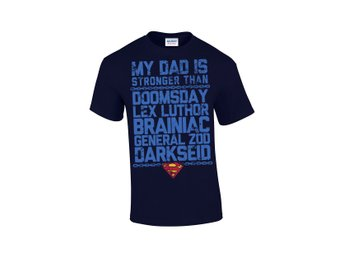 Superman - Father, Man Of The Day t-shirt - Large