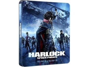 Harlock Space Pirate Steelbook 2D/3D Blu-ray