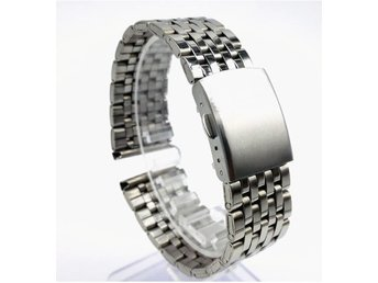 stainless steel klock armband 18MM