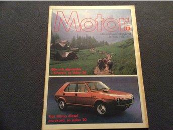Motor Nr 6 1980 Fiat Ritmo D,Alpvandra i Schweiz,SAAB s knackningsfria motor,Vaz - Filipstad - Motor Nr 6 1980 Fiat Ritmo D,Alpvandra i Schweiz,SAAB s knackningsfria motor,Vaz - Filipstad
