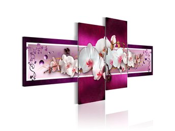 Tavla - Romantic orchids 200x90