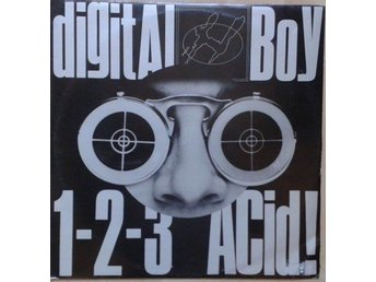 "Digital Boy, 1-2-3 Acid! *Hardcore, Techno, Acid  12"" UK"
