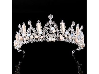 Tiara Rhinestone Crystal Wedding Party Crown Hair Band Dam Princess Headband
