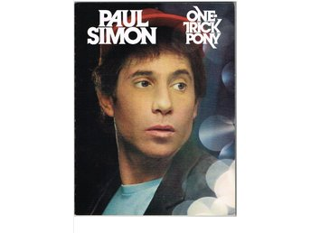 PAUL SIMON - ONE-TRICK PONY - texter, noter, ackord (1980)