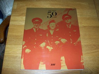 SAS The first 50 years Engelsk text
