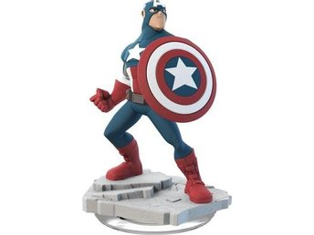 Spel Figurer Wii PS4 PS3 PC Xbox 360 Disney Infinity Captain America