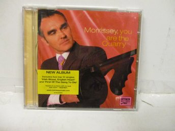 Morrissey - You Are The Quarry - FINT SKICK!