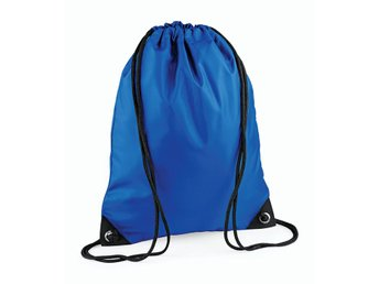 Gymsack, klassisk gympapåse,  bright royal