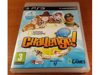 National Geographic Challenge - Komplett - PS3 / Playstation 3
