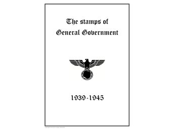 Tyskland Poland General Government 1939-1945 PDF (DIGITAL) STAMP ALBUM PAGES