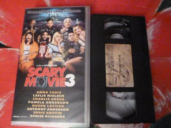 SCARY MOVIE 3, VHS, RYSARE/KOMEDI, FILM