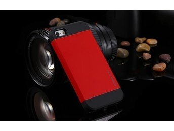 iPhone 5S / 5 Case Slim Armor - Crimson Red
