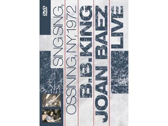 DVD BB King Joan Baez Live Sing Sing