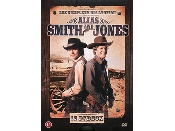 Alias Smith & Jones / Säsong 1+2 Ltd (12 DVD)