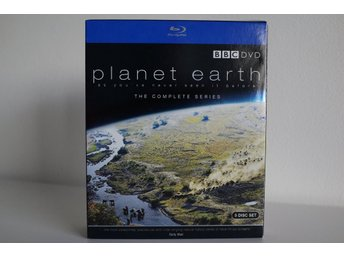 Planet Earth - The Complete Series  [Blu-Ray] (5-Disc UK-utgåva).