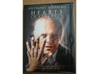 HEARTS IN ATLANTIS (2001) Hjärtan i NY DVD svensk text Hopkins, Stephen King OOP
