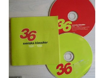 36 svenska klassiker 1990-94- 2cd box-Ledin,Lemarc.Wilmer x.Army of lovers,Docen