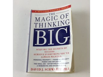 Bok, Magic of Thinking Big, David J. Schwartz, Pocket, ISBN: 9780671646783