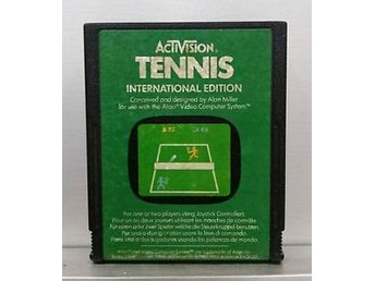 Tennis International Edition - Atari 2600
