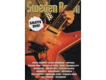 SWEDEN ROCK (PROMO-DVD) MEDFÖLJDE SWEDEN ROCK MAGAZINE #25