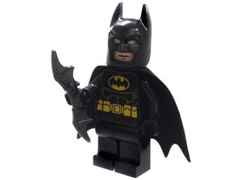 Lego - Batman - Figurer -  Batman Svart  2013  BAT 22
