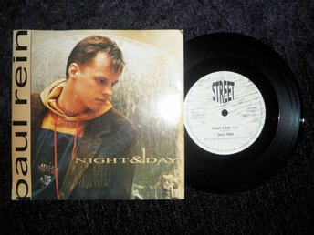 "Paul Rein - Night & Day_1990/7"" Vinylsingel"
