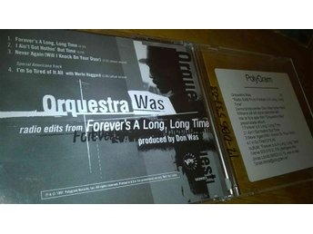 Orquestra Was ?- Forever's A Long, Long Time, CD, promo