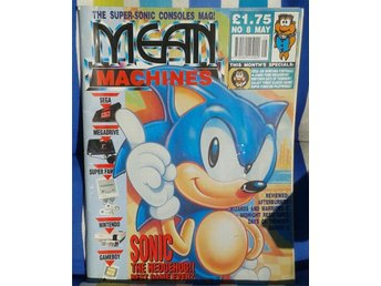 MEAN MACHINES - nr8/1991 - SONIC SEGA NINTENDO