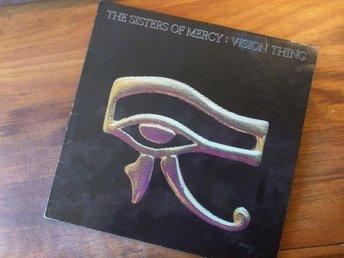 Sisters Of Mercy: VISION THING, vinyl LP album (1990) - Stockholm - Sisters Of Mercy: VISION THING, vinyl LP album (1990) - Stockholm