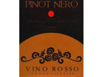 Etikett DOCs Pinot Nero - Jordbro - Etikett DOCs Pinot Nero - Jordbro