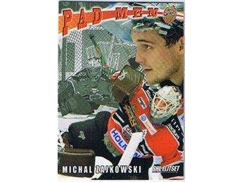 2009-10 SHL serie 1 Pad Men #08 Michal Zajkowski MODO Hockey - Torshälla - 2009-10 SHL serie 1 Pad Men #08 Michal Zajkowski MODO Hockey - Torshälla