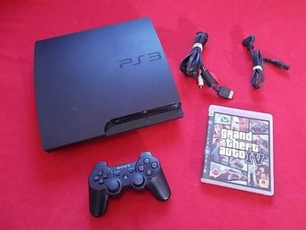 BASENHET till Sony Playstation 3 PS3 + GTA IV Grand Theft Auto 4