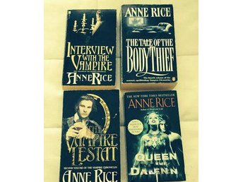 4 Anne Rice books  lots