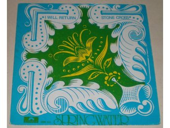 Springwater SINGELOMSLAG I will return 1971