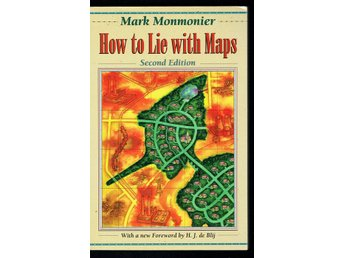 How to Lie with Maps  - Mark Monmonier (på engelska)