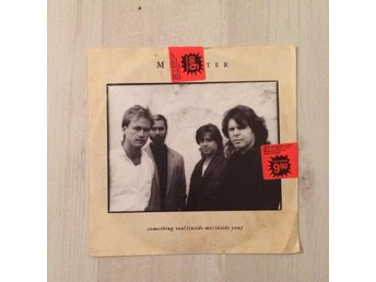 "MR MISTER - SOMETHING REAL. (7"" SINGEL)"