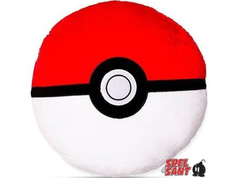 Pokemon Pokeball 38cm Plush Kudde