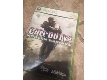 "Xbox 360 ""Call of duty 4 - Modern warfare"""