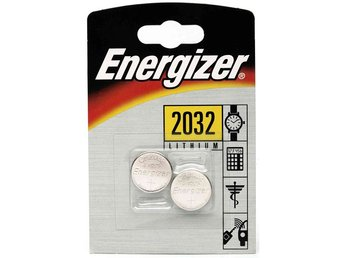 Batteri CR2032 2-Pack