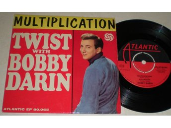 Bobby Darin EP/PS Multiplication 1961
