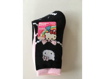 HELLO KITTY STRUMPOR 2 PAR