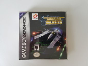 Gradius Galaxies Komplett (GBA/Gameboy Advance)