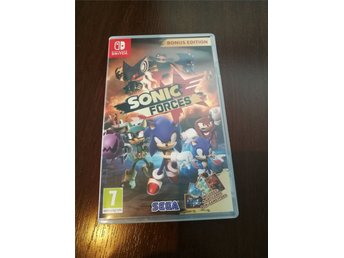 Sonic Forces bonus edition, switch