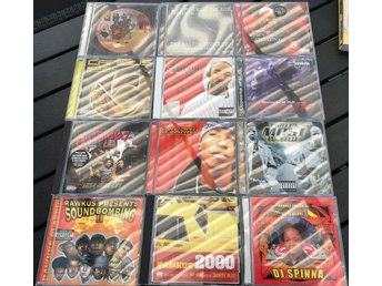 HIP HOP 90-TALS Paket #2 (12-CD) Rawkus/Canibus/Bumpy Knuckles/Outsidaz/Drag On